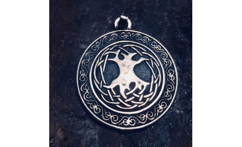 Celtic Tree of Life Medallion