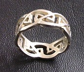 Celtic knot ring Traf. N° 1