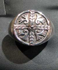 Medieval celtic cross chevalliè