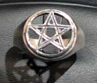 Big pentacle ring